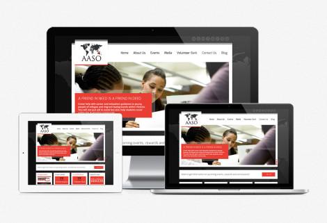 AASO Website Design