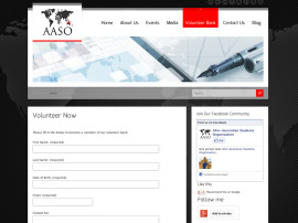 AASO Website Design