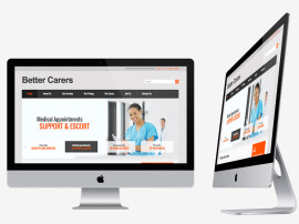 Better Carers Web Design