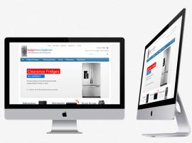 Budget Appliances Web Design