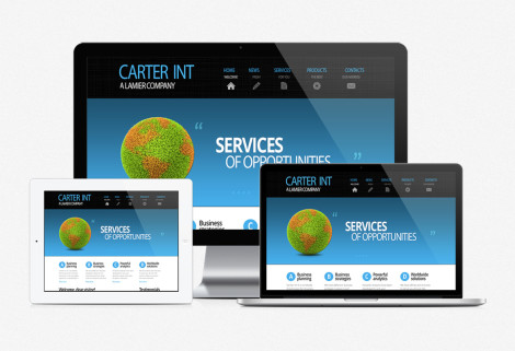 Carter Int Web Design
