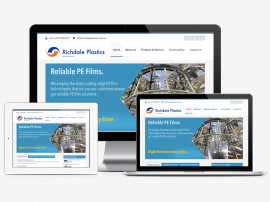 Richdale Plastics Web Redesign
