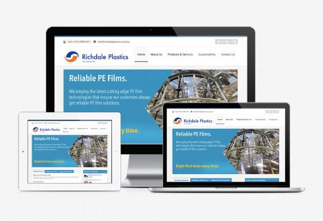 Richdale Plastics Web Redesign