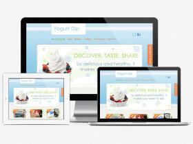 YogurtDip Website Design