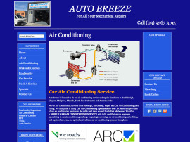Autobreeze Website Design
