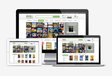 BookSales Web Design