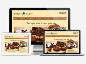 CoffeeMate Web Design