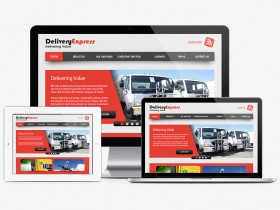 Delivery Express Web Design