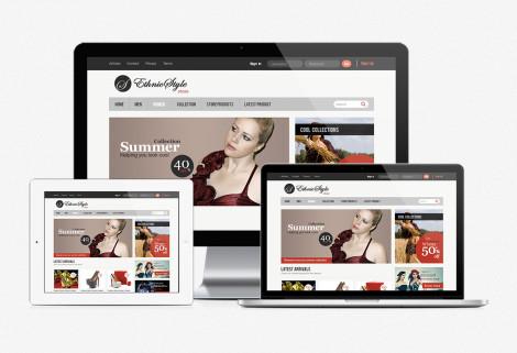 Ethnic Style Web Design