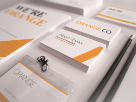 Orange Corporate Identity