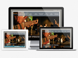 Praise Website Design