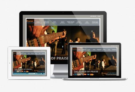 Praise Website Design